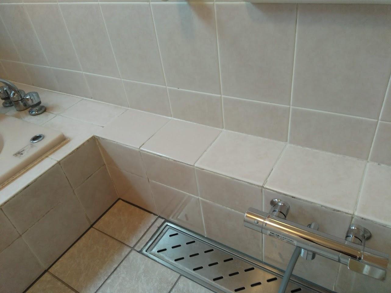 施工後(浴槽へり②)