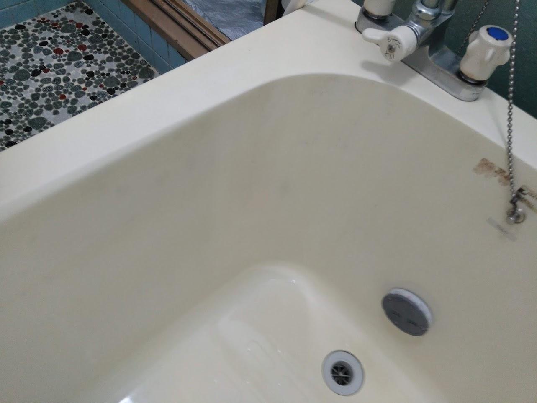 クリーニング後(浴槽内)