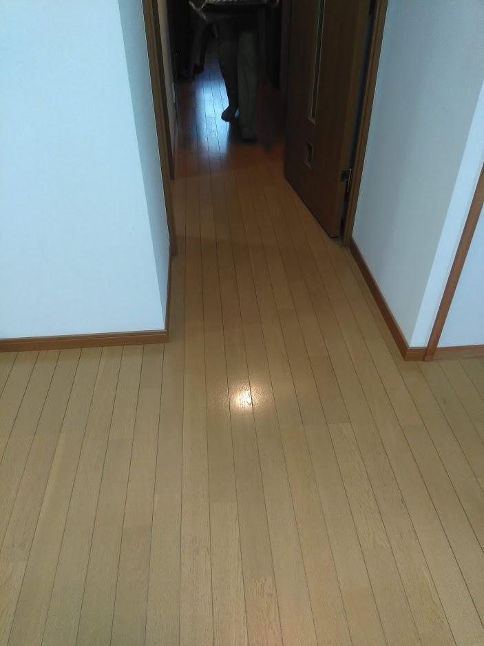 コーティング後(廊下)