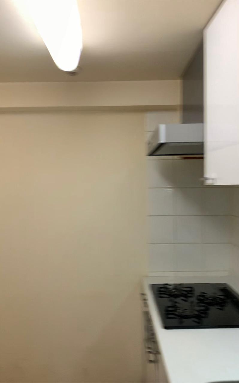 施工前(キッチン換気扇周辺)