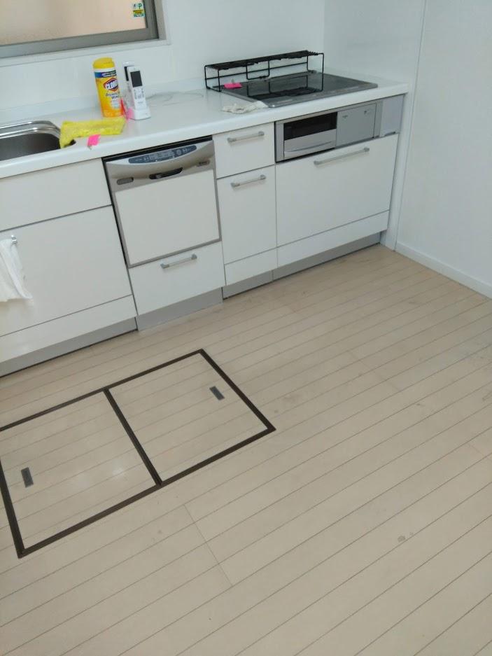 施工前(キッチン全体)