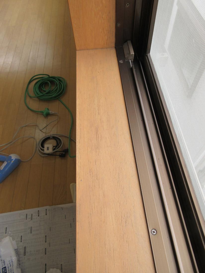 窓枠リペア補修後①