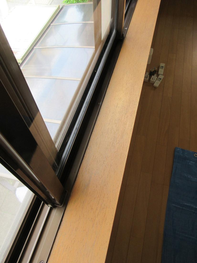窓枠リペア補修後②