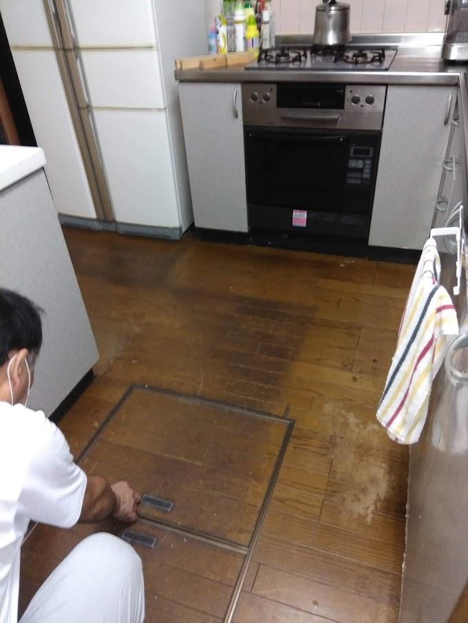 施工前(キッチン前)